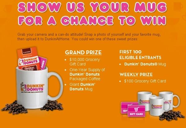 mug up promotion