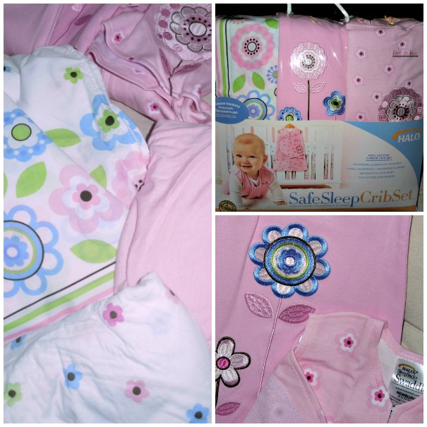 Safe Sleep halo crib set