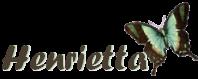 Henrietta's signature image