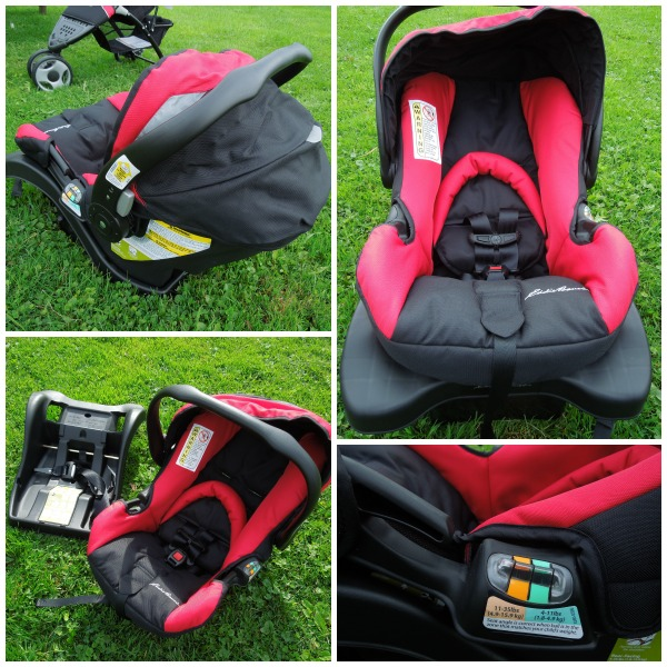 Eddie Bauer carseat and base