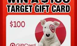 Enter for a chance to win one of four $100 Target Gift Cards!