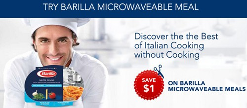 barilla microwaveable meals coupon