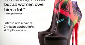 Christian Louboutin shoe #giveaway, enter and win!