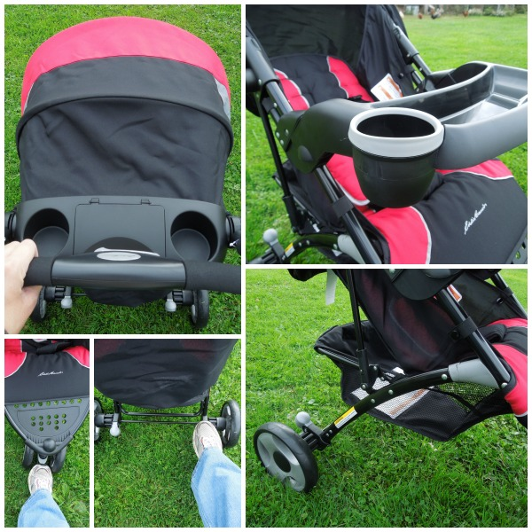 eddie bauer stroller review