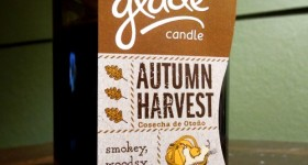 Limited Edition Glade® Fall Collection candles now at Walmart!