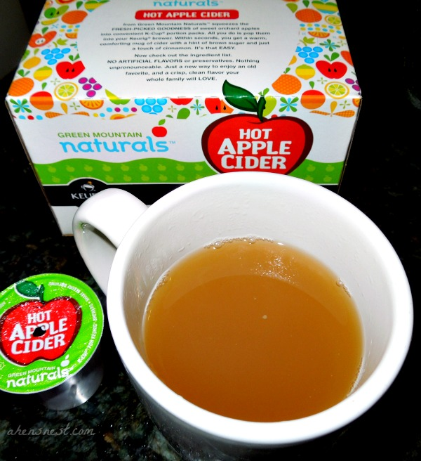 green mountain apple cider kcup