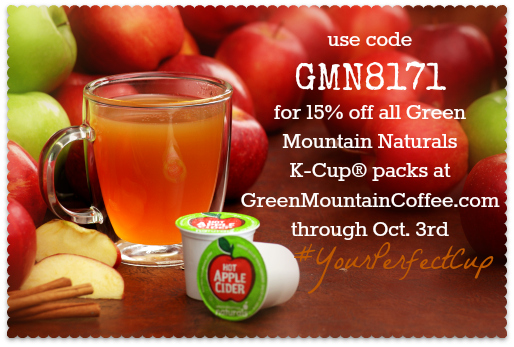 green mountain coffee sept promo code