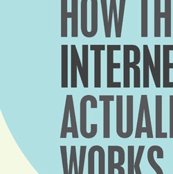 How The Internet Actually Works – Tech Infographic