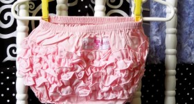 RuffleButts ruffled baby bloomers #babygifts