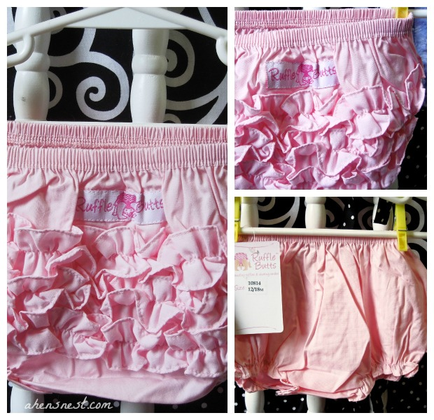 ruffle butts baby bloomers
