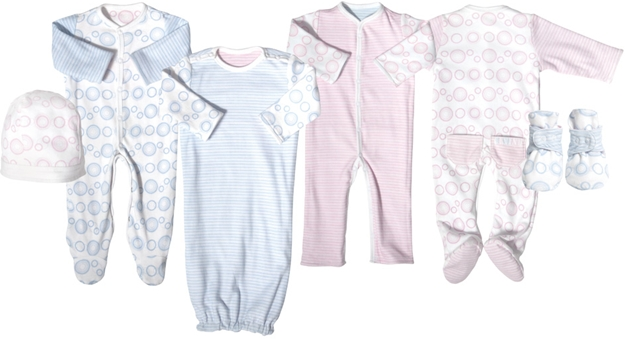 Twotara gender neutral reversible baby clothing #babygifts