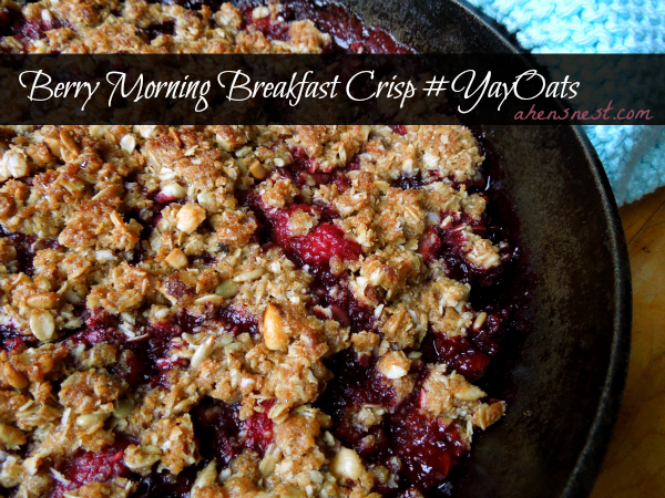 Berry Morning Breakfast Crisp