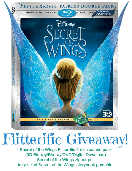 Disney Fairies Secret Wings Giveaway