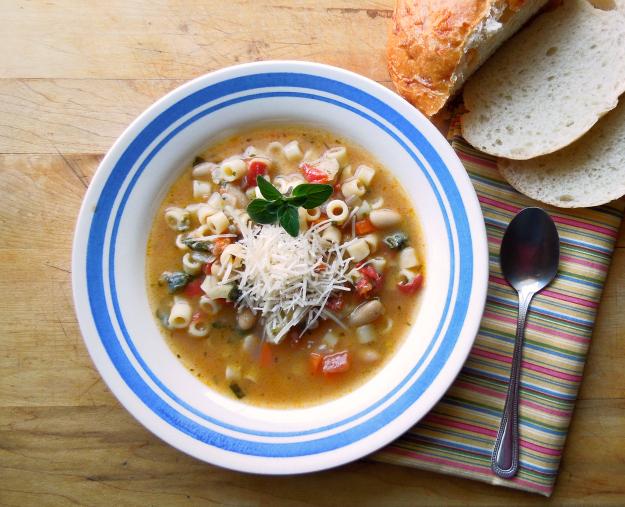Ditalini White Bean Soup