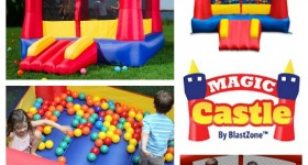 Magic Castle by Blast Zone – Bounce House Giveaway!