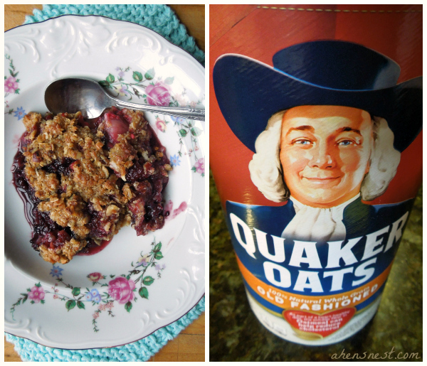 Quaker berry crisp