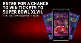 Win Super Bowl XLVII tickets from Verizon Wireless! #VZWSM