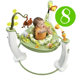 Evenflo ExerSaucer Safari Friends Jump and Learn Activity Center