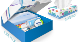 Share your Care with a Kleenex Brand Care Pack #KleenexCares
