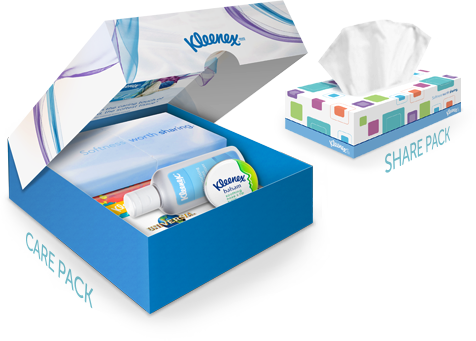 kleenex brand care pack 2012