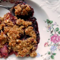 oatmeal berry crisp