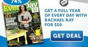 Scott Shared Values: Rachael Ray magazine subscription for just $10.00!