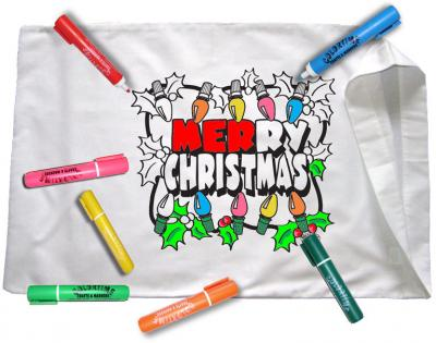 merry christmas pillowcase