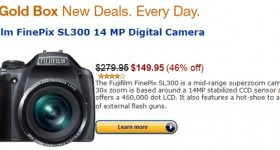 Gold Box Deal: Fujifilm FinePix SL300 14MP Digital Camera