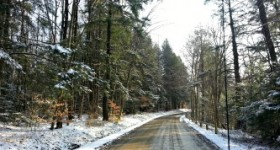 Wordless Wednesday – Snowy Backroads #ww