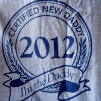 certified new dad tshirt