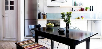 dining room - benches