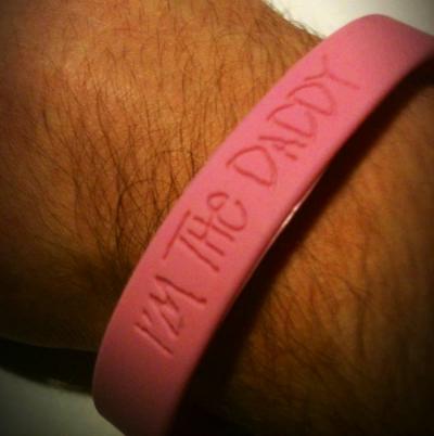 I'm the daddy bracelet