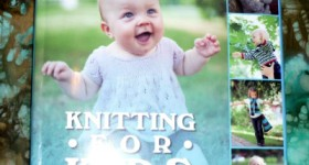 Knitting For Kids book review by my sister