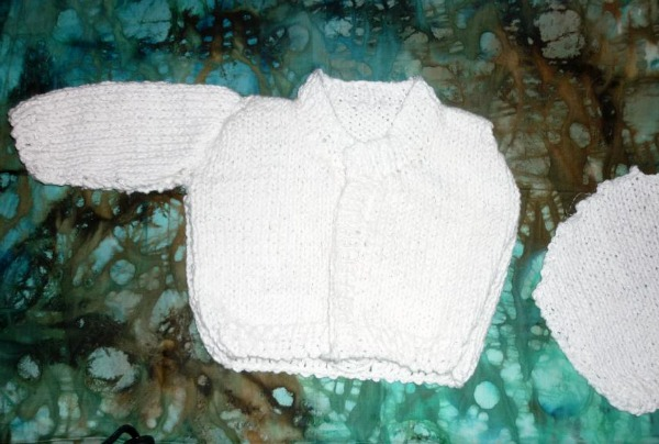 knitting sweater baby