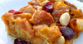 Silk Pumpkin Pie Bread Pudding Recipe #SilkHoliday