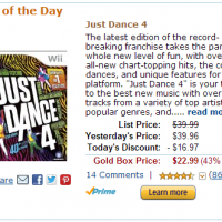 Amazon-Gold-Box-Just-Dance-4-deal