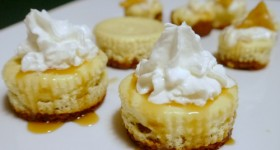 Mini Caramel Molasses Cheesecakes #ToraniFlavors