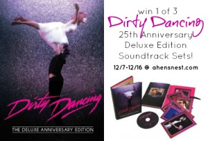Dirty Dancing Deluxe Soundtrack Giveaway