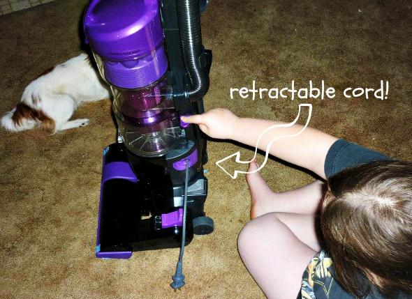 Panasonic Vacuum retractable cord
