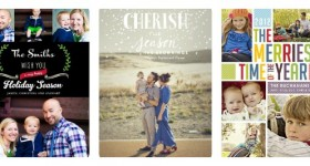 TinyPrints photo cards Collage