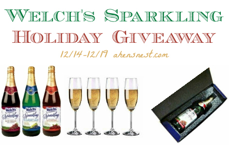 Welch's Sparkling holiday giveaway