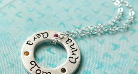 Circle of Love personalized Necklace by Isabelle Grace #review