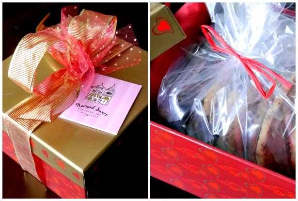 Harvard Sweet Boutique gift box of sweets
