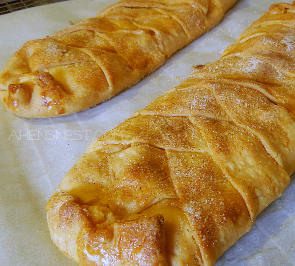 apple pie cream cheese braid