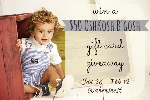 oshkosh b'gosh giveaway