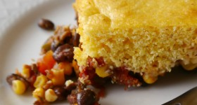 Comfort Food: Sweet & Spicy Cornbread Casserole