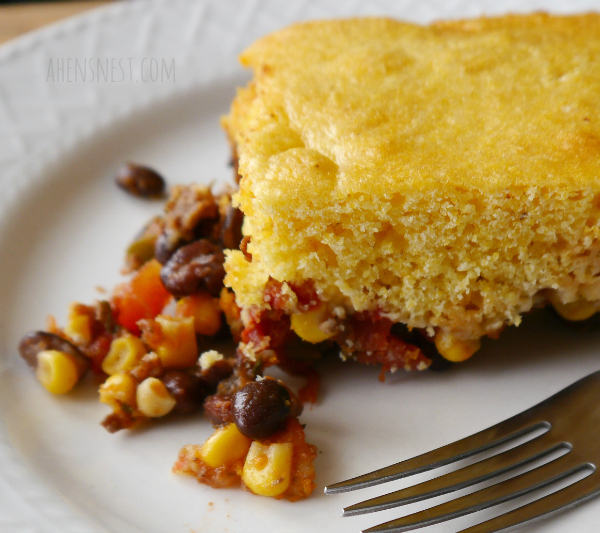 sweet spicy cornbread casserole