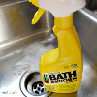 CLR bathroom kitchen cleaner review