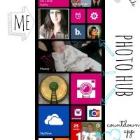 Windows 8X phone homescreen