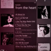 valentine's day playlist HTC phone
